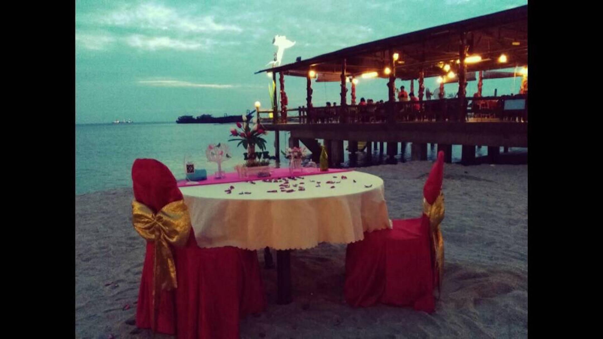 halal romantic dinner in penang